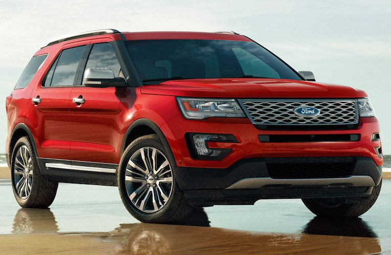 New Ford Explorer 2018
